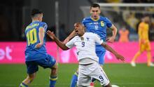 Francia sufre más de lo esperado y solo consigue un punto en Ucrania
