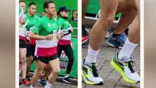 ¡Los calcetines de Peña Nieto causaron escándalo en México!