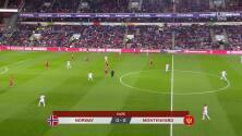 Resumen del partido Noruega vs Montenegro