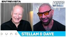 Dave Bautista y Stellan Skarsgård revelan los retos de sus disfraces en Dune