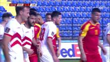 ¡GOL!  anota para Montenegro. Marko Simic