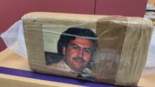 Hallan en Nueva York 77 paquetes de droga envueltos con la imagen de Pablo Escobar