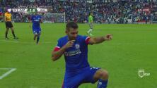 Con un punterazo de 'Caute', Cruz Azul se está instalando en semifinales