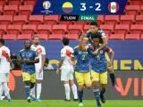 Colombia obtiene el tercer puesto de Copa América tras el 3-2 ante Perú