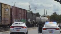 Muere hombre atropellado por un tren en Fayetteville