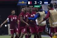 Qatar deja a El Salvador en el camino al derrotarlos por 3-2 en Arizona