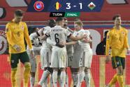 Bélgica remontó y tundió a Gales de Gareth Bale