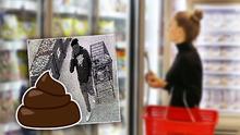 """""""Terminó con la calabaza por toda la mano"""": Mujer descubre que hombre había defecado en el congelador de un supermercado"""