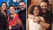 Lucerito Mijares y su papá se disfrazaron para recrear una divertida escena de 'Mamma Mia!'
