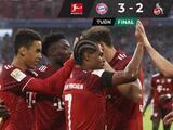 Con doblete de Serge Gnabry, Bayern derrota al Colonia en trepidante duelo