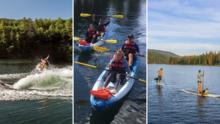 Bass Lake: el destino ideal para actividades acuáticas