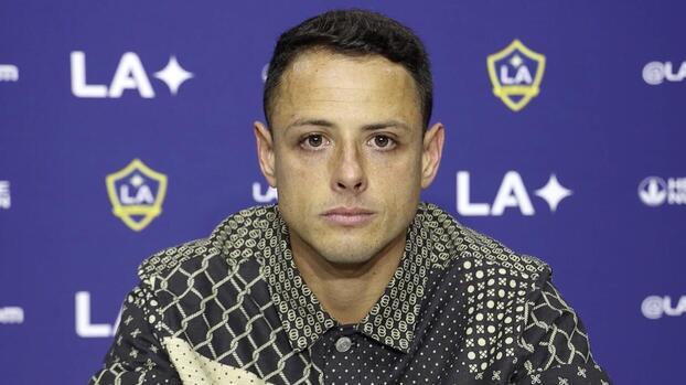 """'Chicharito' Hernández reafirma que el """"Galaxy está para ser campeón"""""""