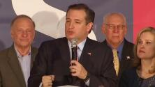 Ted Cruz es el candidato republicano favorito en la Asamblea Electoral de Iowa