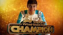 George Russell, campeón de la F1 virtual
