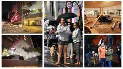 En fotos: un fuerte terremoto deja un muerto y daños materiales en Guerrero y sacude a la Ciudad de México