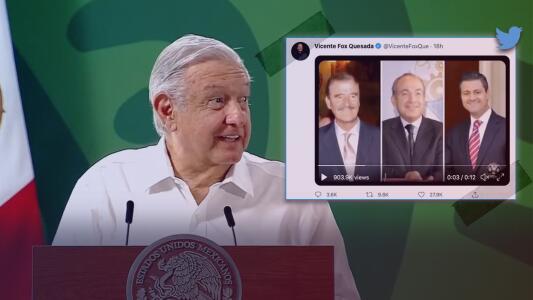 El meme con el que Fox se burla de AMLO tras fracaso de consulta popular para juzgar a expresidentes