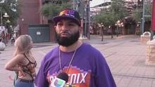 Seguridad entre fanáticos durante partidos de los Phoenix Suns