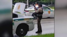 ¿Qué motivó el tiroteo en Doral que dejó a dos policías heridos y a un sospechoso muerto?