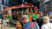 Los históricos tranvías de San Francisco vuelven a circular tras año y medio fuera de servicio