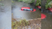 """Tomó por sorpresa"": fuertes lluvias causan accidentes en Lumberton"