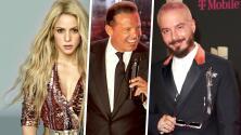 En alza y otras a la baja como la de Luis Miguel: las fortunas de famosos como Shakira, J Balvin y más