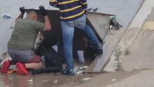 Túneles de desagüe oscuros y peligrosos, la arriesgada ruta de migrantes para llegar a EEUU