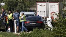 Decenas de migrantes muertos en un camión en Austria