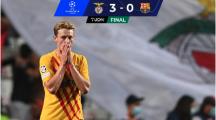 Resumen | ¡Otra derrota humillante! Barça es goleado por el Benfica