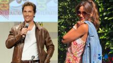Matthew McConaughey comenzó a dar clases en la universidad y Argelia dice que no podría concentrarse si fuese su profesor