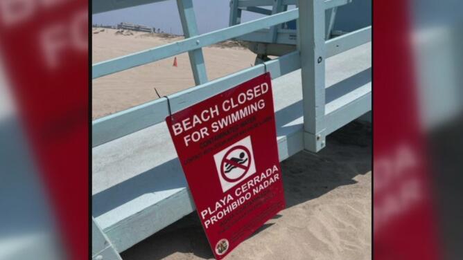 Estas son las playas del sur de California que permanecen cerradas por gigantesco derrame de aguas negras