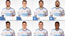 Cinco jugadores del Real Madrid siguen sin dorsal asignado