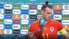 Bale y su berrinche por pregunta 'incómoda' tras caer en la Euro