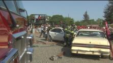 Patrulla de Caminos realiza simulacro sobre riesgos de conducir en estado de ebriedad