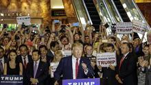 Trump deberá rendir declaración en la demanda de manifestantes agredidos en una protesta en 2015