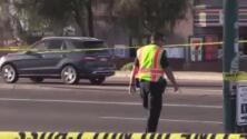 Evacuan escuela por ruptura de línea de gas natural en Phoenix
