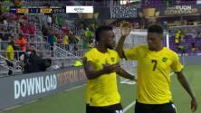 ¡GOL!  anota para Jamaica. Junior Flemmings