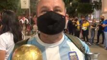 Fan brasileño quiere que Messi gane la Copa América a su país