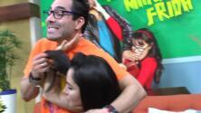 Detrás de cámaras: Omar Chaparro puso un desorden marca 'diablo' en Despierta