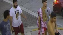 Una pareja iba de la mano en la celebración del Orgullo Gay cuando fue atacada por cuatro hombres