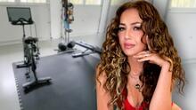 """Thalía muestra """"lo que quedó"""" de parte de su casa tras las inundaciones en Nueva York"""