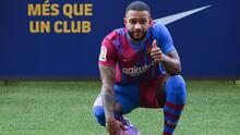 Memphis ve un sueño jugar con Messi y se declara su fan