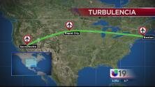 Pasajeros de un vuelo con destino a Sacramento resultan heridos en turbulencia