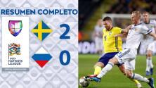 Suecia 2-0 Rusia - GOLES Y RESUMEN - Liga B - Grupo 2 - UEFA Nations League