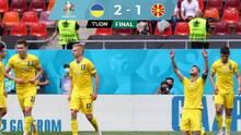 Oxígeno puro... Ucrania mantiene la vida al vencer a Macedonia