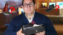 Ariel Coro nos sorprendió con lo último en tecnología, como este zapato-aspiradora