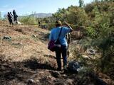 Madres de desaparecidos en México piden tregua al Cartel del Golfo para que las dejen buscar a sus familiares en un predio