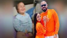 """""""Gracias por enseñarnos a luchar"""": Natti Natasha y Raphy Pina cumplen el sueño de una niña que venció el cáncer"""