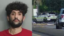 Arrestan al conductor acusado de provocar un accidente que dejó tres muertos en el suroeste de Miami-Dade