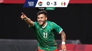 Goleada a Sudáfrica y México avanzó a Cuartos de Final