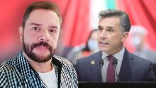 Actor Héctor Parra denuncia a Sergio Mayer por presunto tráfico de influencias